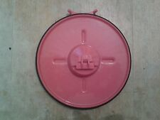 Genuine Dyson DC07 cyclone Bin Flap Lid Base Great condition RED