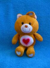 "Care Bear Tenderheart Bear 2008 8"" Plush Specially Made For Holiday DVD Set"