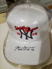 Joe Torre signed Hat Manager of year 96