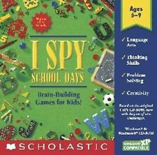 I Spy School Days  Challenges Kids Use Their Brains  Brand New Sealed