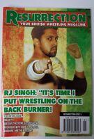 Resurrection Your British Wrestling Magazine Issue 3 Wrestler RJ Singh