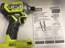 Brand New Ryobi P239 18V ONE+ Cordless Brushless 3 speed Impact Driver bare tool