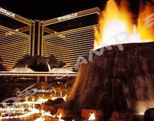 LAS VEGAS - MIRAGE HOTEL & VOLCANO - Travel Souvenir Flexible Fridge Magnet