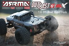 ARRMA 1:8 OUTCAST 6S Electric RC Stunt Monster Truck 4WD Drk SilvrRTR ARAARAD84