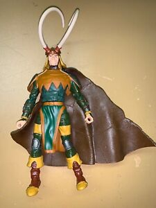 """ToyBiz Marvel Legends Avengers 6"""" Loki from Onslaught BAF Series rare"""