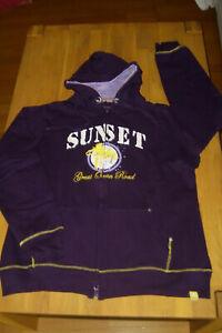 Roadsign Hoddie  Sweat Jacke Kapuzen Pullover  lila Gr.  XL 40 - 42 * TOP *