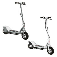 Razor E325 Electric Battery Motorized Ride On Kids Scooters, 1 White & 1 Silver