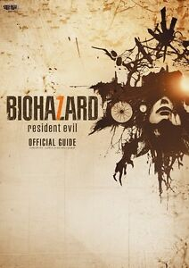 BIOHAZARD 7 resident evil official guide Japanese Book PS4 game