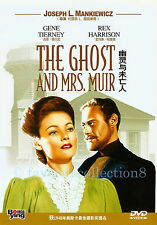 The Ghost and Mrs. Muir (1947) - Gene Tierney, Rex Harrison - DVD NEW