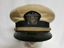 Original WWII US Navy Officer Cap