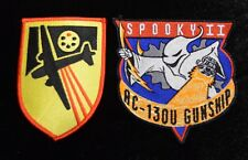 USAF AC-47 Spooky and AC-130U Spooky II Gunship Patches Vietnam War Iraq