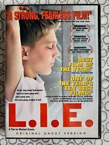 L.I.E. - Original Uncut Version (DVD) Paul Franklin Dano, Brian Cox - Region 1