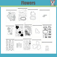 Flowers Metal Cutting Dies and stamps DIY Scrapbooking Card Stencil Paper
