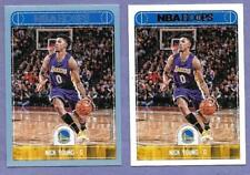 2017-18 Panini Hoops #110 Nick Young Warriors Set of 2 in Near Mint Condition