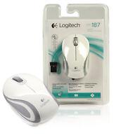 Logitech M187W Wireless 3 Button Desktop Optical Mouse Scroll DPI For PC Laptop
