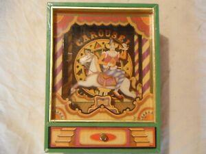 boite a musique,automate little clown music circus 1993 carroussel