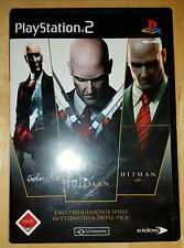 * Hitman Triple Pack * Silent Assassin+Contracts+Blood Money * PS 2 * FSK 18 *