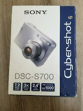 Sony Cyber-Shot Digital Camera DSC-S700 For Parts/Not Working