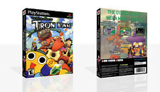The Misadventures of Tron Bonne PS1 Replacement Case + Box Art Work No Game