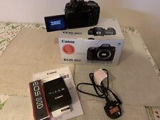 Canon EOS 80D-basso utilizzo-solo corpo + libro per negati