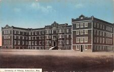EDMONTON CANADA~UNIVERSITY OF ALBERTA-S E WALKER PUBLISHED POSTCARD 1910s