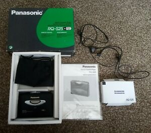 Panasonic RQ-S25 Portable Cassette Player boxed (no battery Untested)