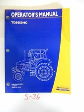 New Holland Operator's Owner's Manual TD5050HC 2/10