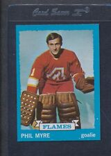 1973/74 Topps #077 Phil Myre Flames NM/MT *674