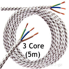 5 Metre Steam & Dry Iron Cable Mains 3 Core Flex Cord Long Plug Lead 5m