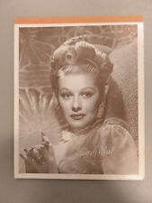 VINTAGE Writing Tablet/Paper Pad I Love Lucy LUCILLE BALL Photo Cover