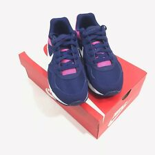 53c4b89e8ad Nike WMNS Air Max IVO Athletic Running Shoes Blue White Pink 580519-416 Sz 7