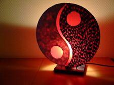 Lampe Yin-Yang S, Tischleuchte, Asia Leuchte, Asiatische Designer Tischlampe