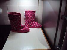 Next Girls Slipper Boots, Size 2