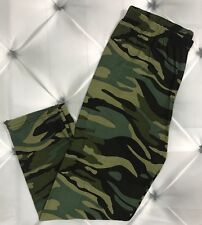 One Size Camouflage Print CAPRI Leggings OS 2-10 Butter Soft Camo
