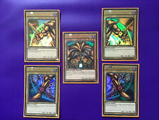 Yu-Gi-Oh Ultra Rare EXODIA THE FORBIDDEN 5 CARD FULL SET PIECES 1st Edition YGLD