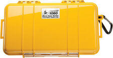 Pelican ™ 1060 Solid Yellow Micro Case includes Foam + Free engraved nameplate