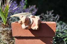 Kantenhänger,Frosch,Terracotta,2er Set