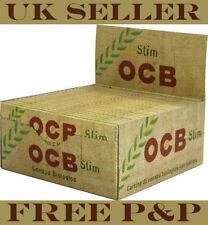 Original OCB Organic Slim Rolling Papers 3 Booklets
