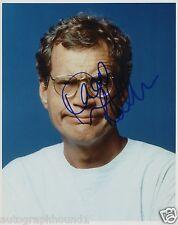 DAVID LETTERMAN SIGNED AUTOGRAPHED COLOR PHOTO WOW!!