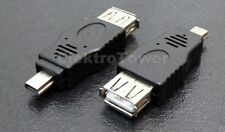 USB Adapter Typ A Kupplung Buchse auf Mini USB Stecker Typ B 5 pol Stecker