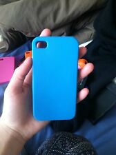 silicone iphone 4 case Blue