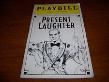 JAN 1997 PLAYBILL - PRESENT LAUGHTER - FRANK LANGELLA DAVID CALE LISA EMERY