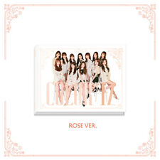 IZ*ONE IZONE - COLOR*IZ [ROSE ver.] CD+Photocards+Free Gift+Tracking no.