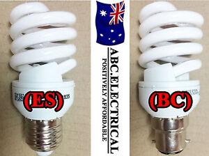 Energy Saver Light Globe Saving Bulb Lamp Daylight White Spiral CFL BC ES Cool