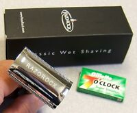 RazoRock Double Edge DE Safety Razor - NIB - Classic Wet Shaving