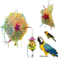 Budgie cage Decoration For Macaw Parrot Toy Bird Toy pet supplies Chewing Toy