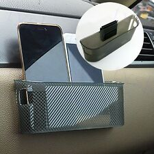 Car Auto Accessory Storage Plastic String Bag Bin Cup Phone Gadget Holder Pocket