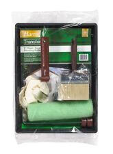 """Harris Transform Shed Fence and Decking Paint Roller & Brush Kit Set - 9"""""""