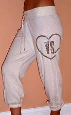 VICTORIA'S SECRET SEQUIN Fleece Crop Pant SZ-S/P NEW