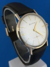 Mens Vintage Bulova 17 Jewels Watch.FREE 3 DAY PRIORITY SHIPPING.
